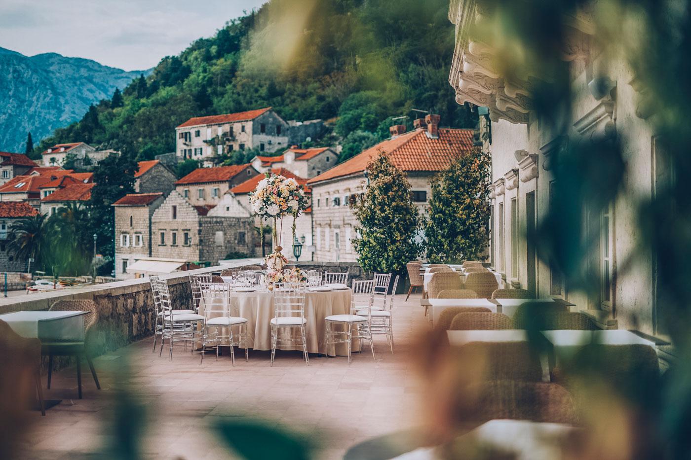 Glamorous Wedding Venues in Montenegro